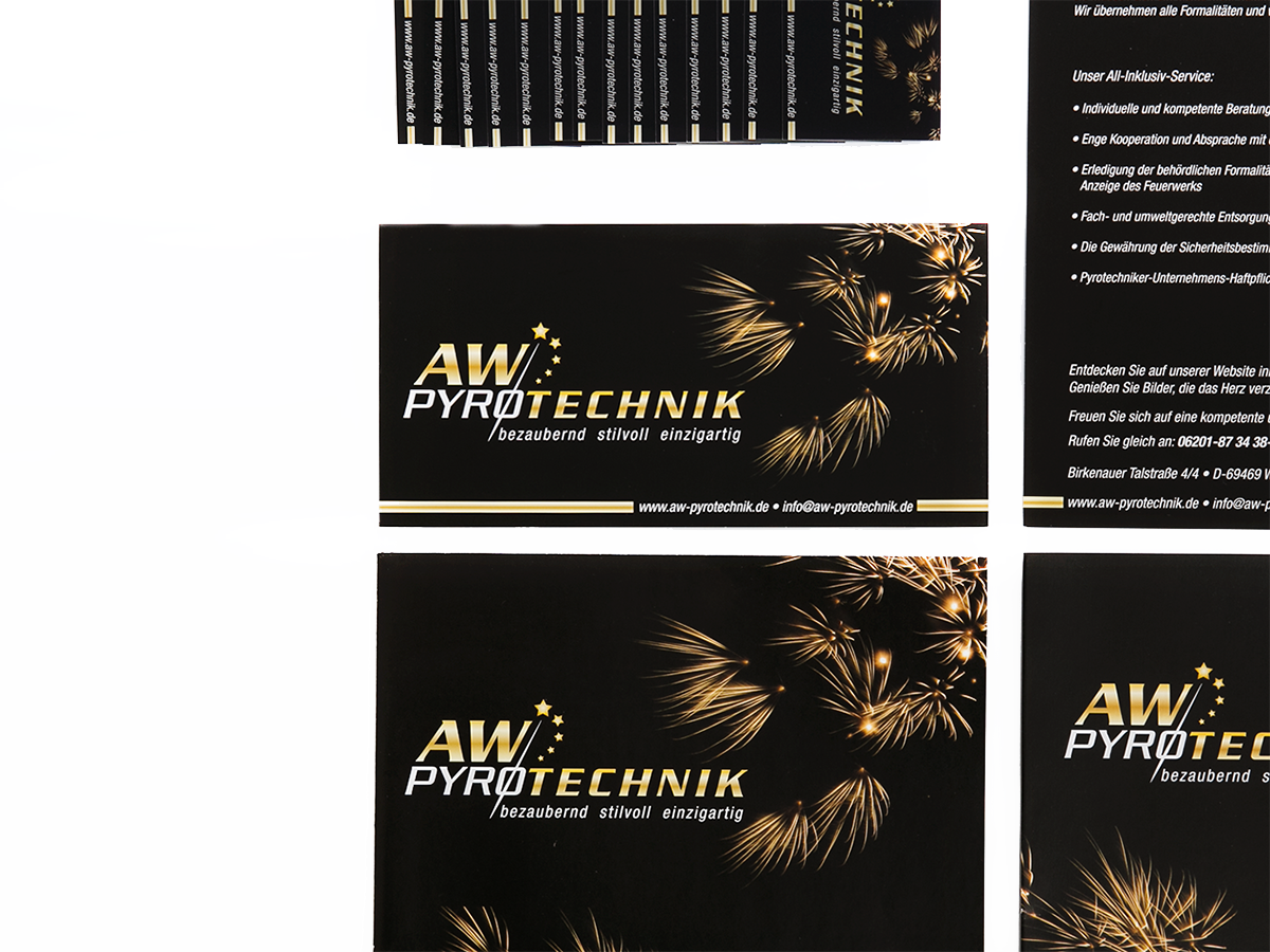 Corporate Design AW Pyrotechnik